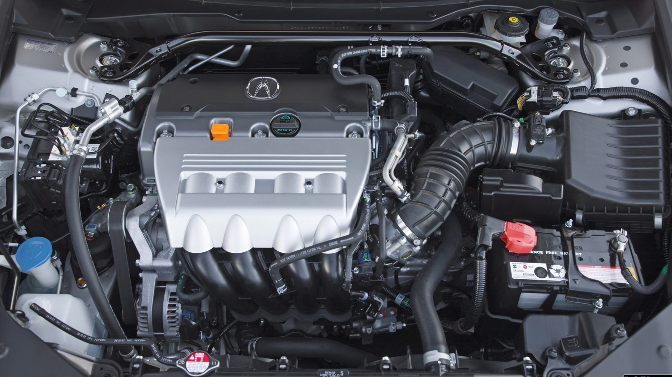1366x768 2009 Acura Tsx Engine, cars
