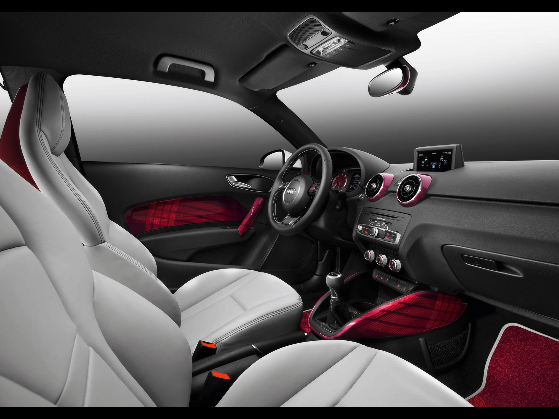 Audi A Fashion Interior Wallpapers X
