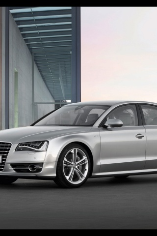 320x480 2012 Audi S8 Front And Side Iphone 3g Wallpaper