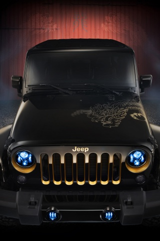 320x480 2012 Jeep Wrangler Dragon Design Concept Static Iphone 3g