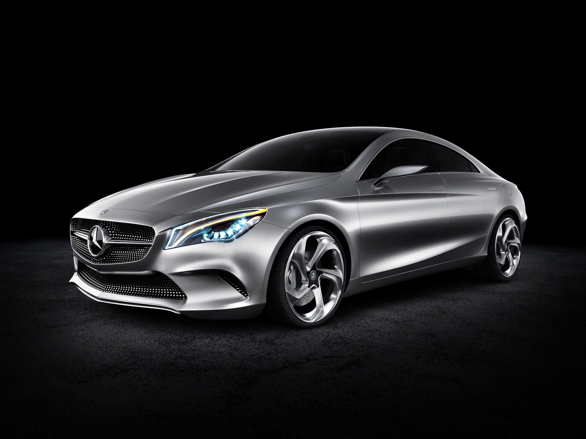 2012 mercedes benz concept coupe style studio hintergrundbilder 2012 mercedes benz concept. Black Bedroom Furniture Sets. Home Design Ideas