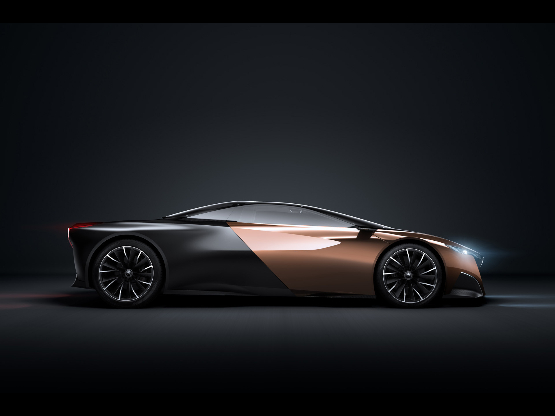 Peugeot Onyx Concept Studio Side Wallpapers X