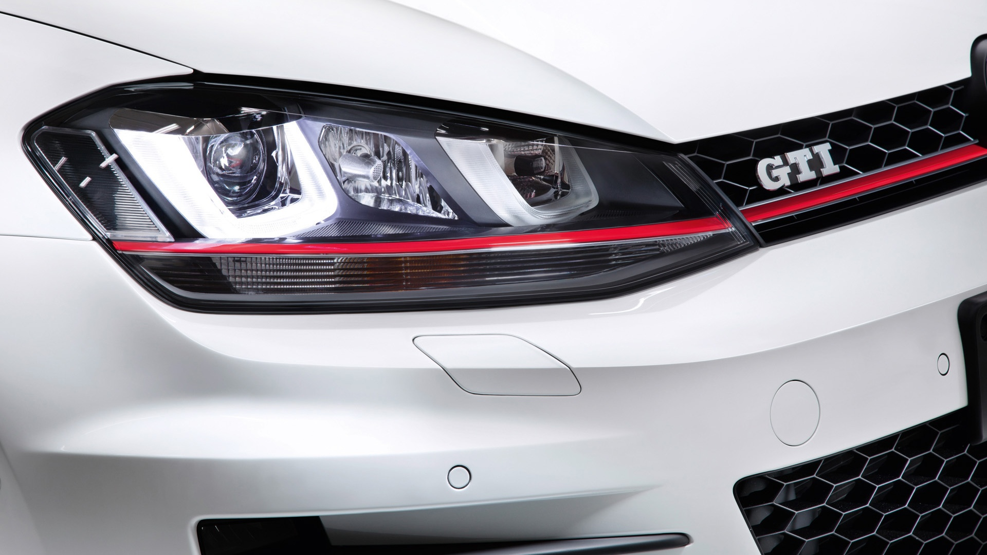1920x1080 2012 Volkswagen Golf 7 GTI Concept Headlights ...