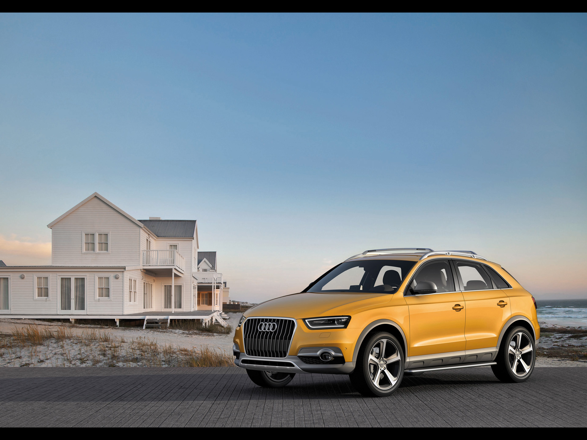 2012 yellow audi q3 jinlong yufeng side angle wallpapers 2012 yellow audi q3 jinlong yufeng. Black Bedroom Furniture Sets. Home Design Ideas