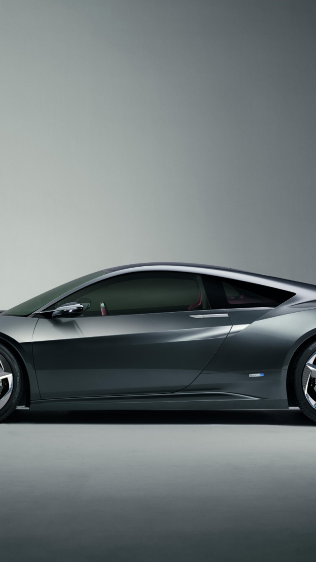 640x1136 2013 Acura NSX Concept Studio Side Iphone 5 Wallpaper