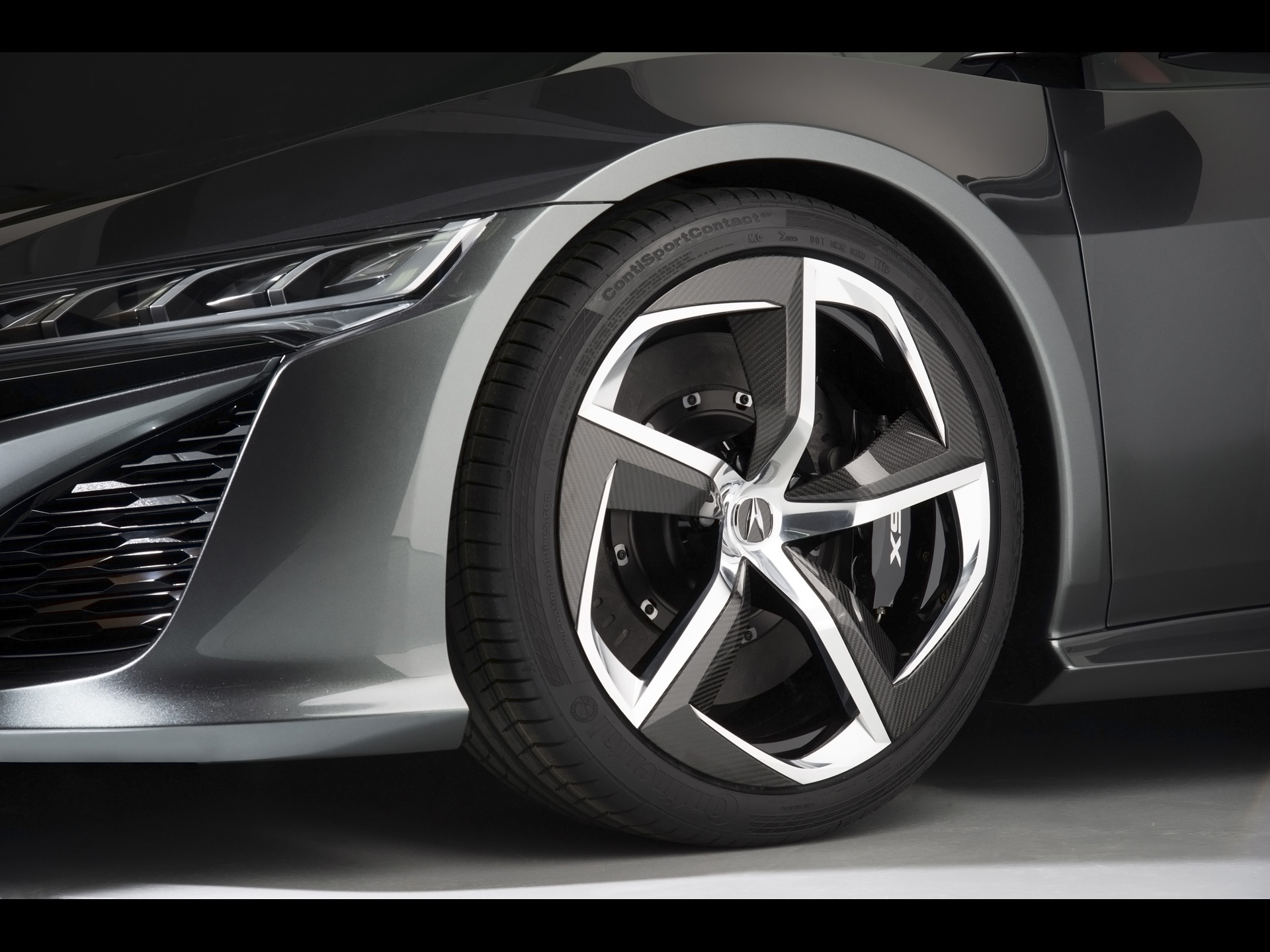 2013 Acura Nsx Concept Wheel Wallpapers 2013 Acura Nsx