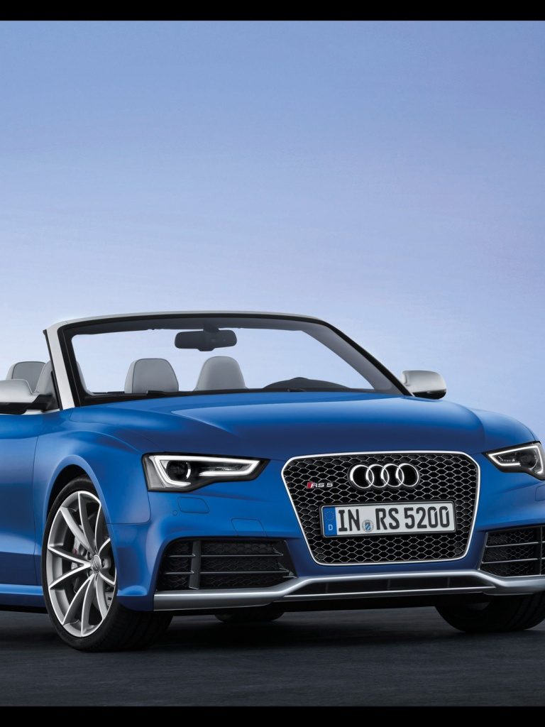 768x1024 2013 Audi Rs 5 Cabriolet Static Front Angle Ipad