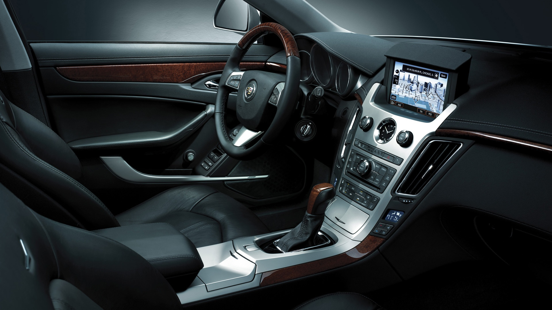 1920x1080 2013 Cadillac Cts Coupe Interior Desktop Pc And