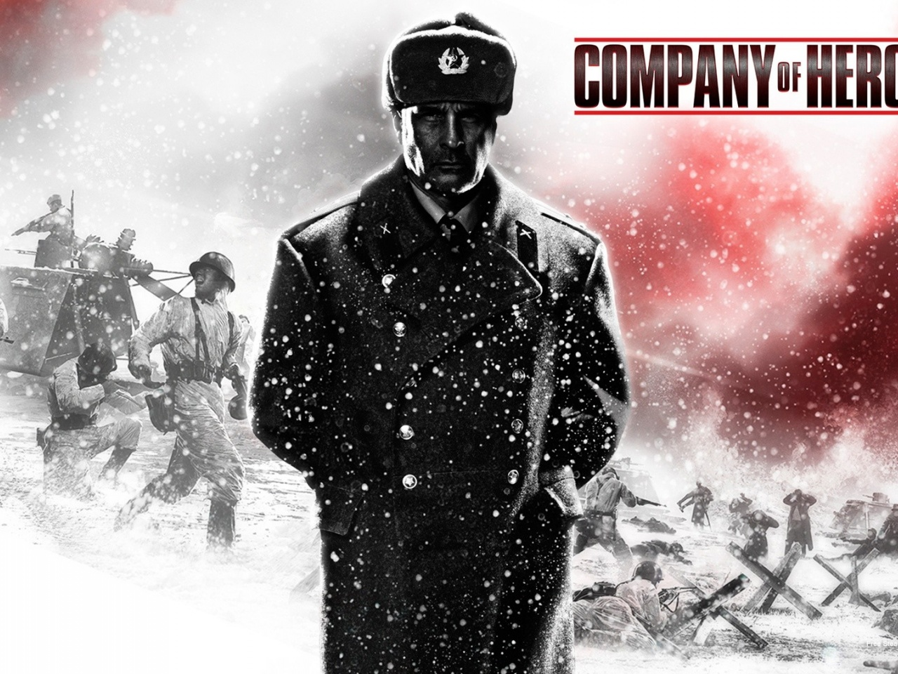 1280x960 2013 Company of Heroes 2 Game desktop PC and Mac wallpaper