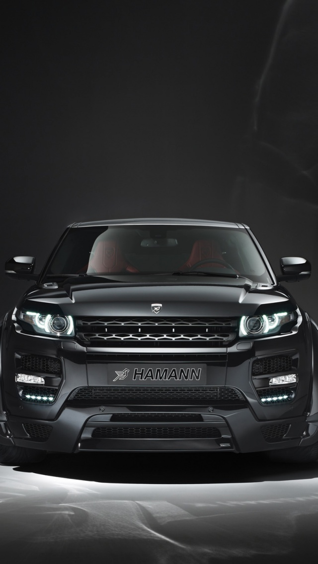 640x1136 2013 Hamann Range Rover Evoque Studio Front Iphone 5 Wallpaper