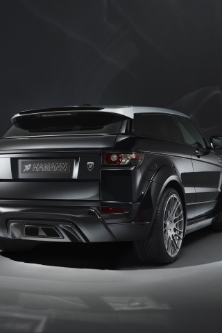 320x480 2013 Hamann Range Rover Evoque Studio Rear Angle Iphone