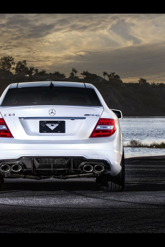 C63 Amg Wallpaper Iphone Wallpapersimages Org