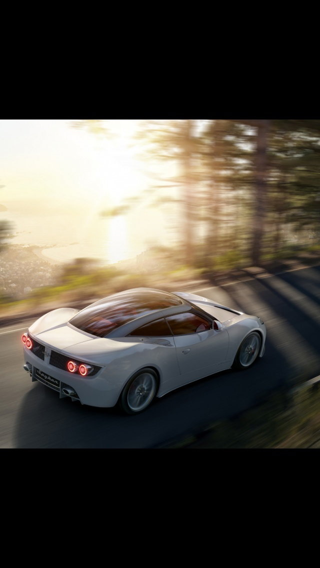 640x1136 2013 Spyker B6 Venator Concept Motion Iphone 5 Wallpaper