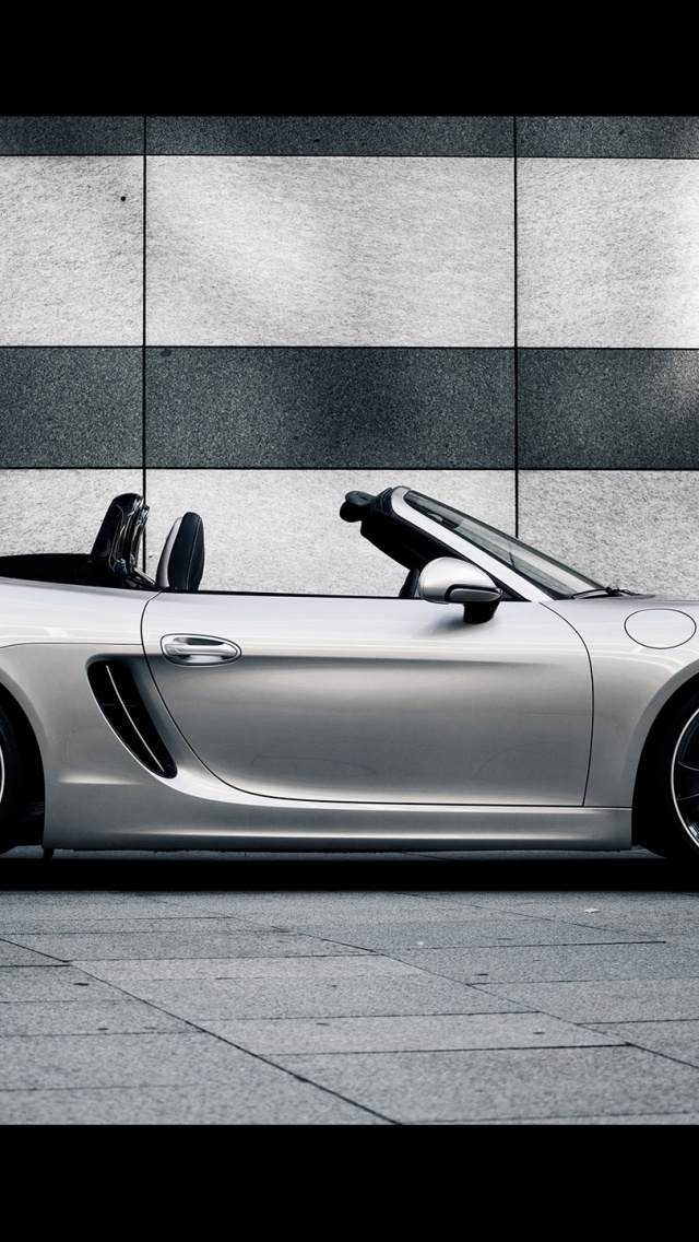 640x1136 2013 Techart Porsche Boxster Static Side Iphone 5