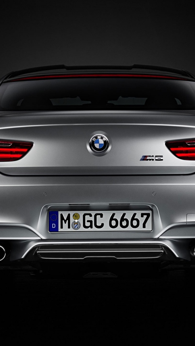Bmw M6 Coupe >> 640x1136 2014 BMW M6 Gran Coupe Iphone 5 wallpaper