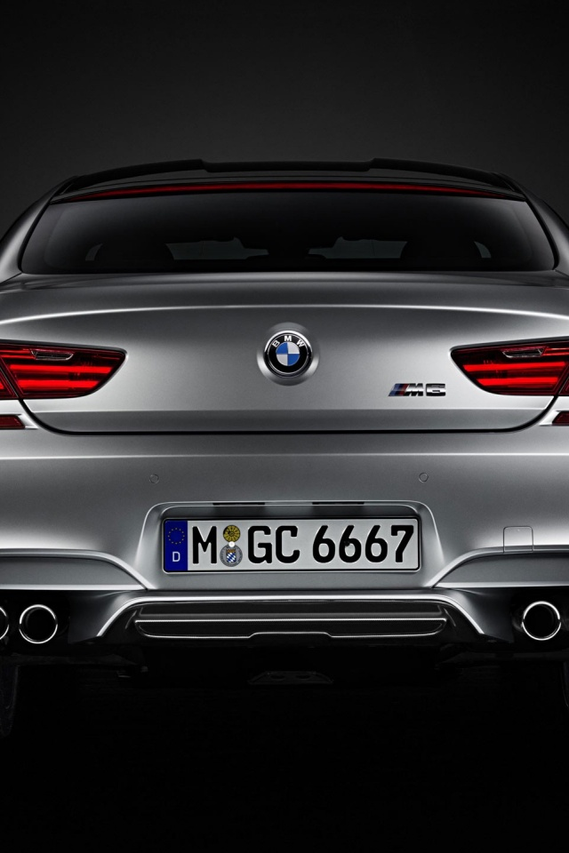 640x960 2014 Bmw M6 Gran Coupe Iphone 4 Wallpaper