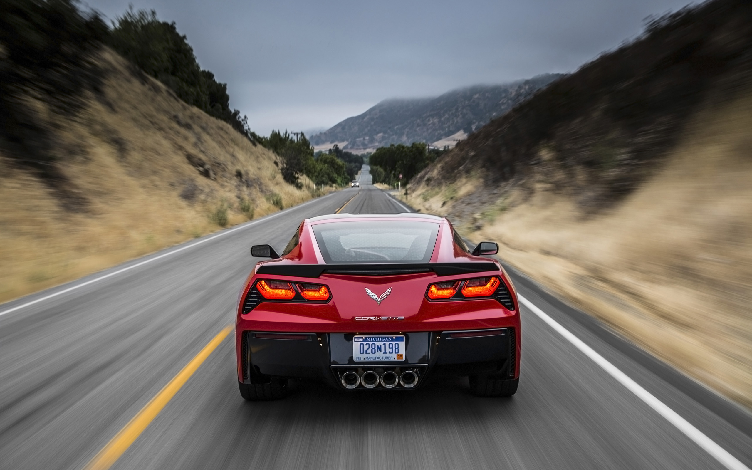 2014 Chevrolet Corvette Stingray Red Red Bewegungs