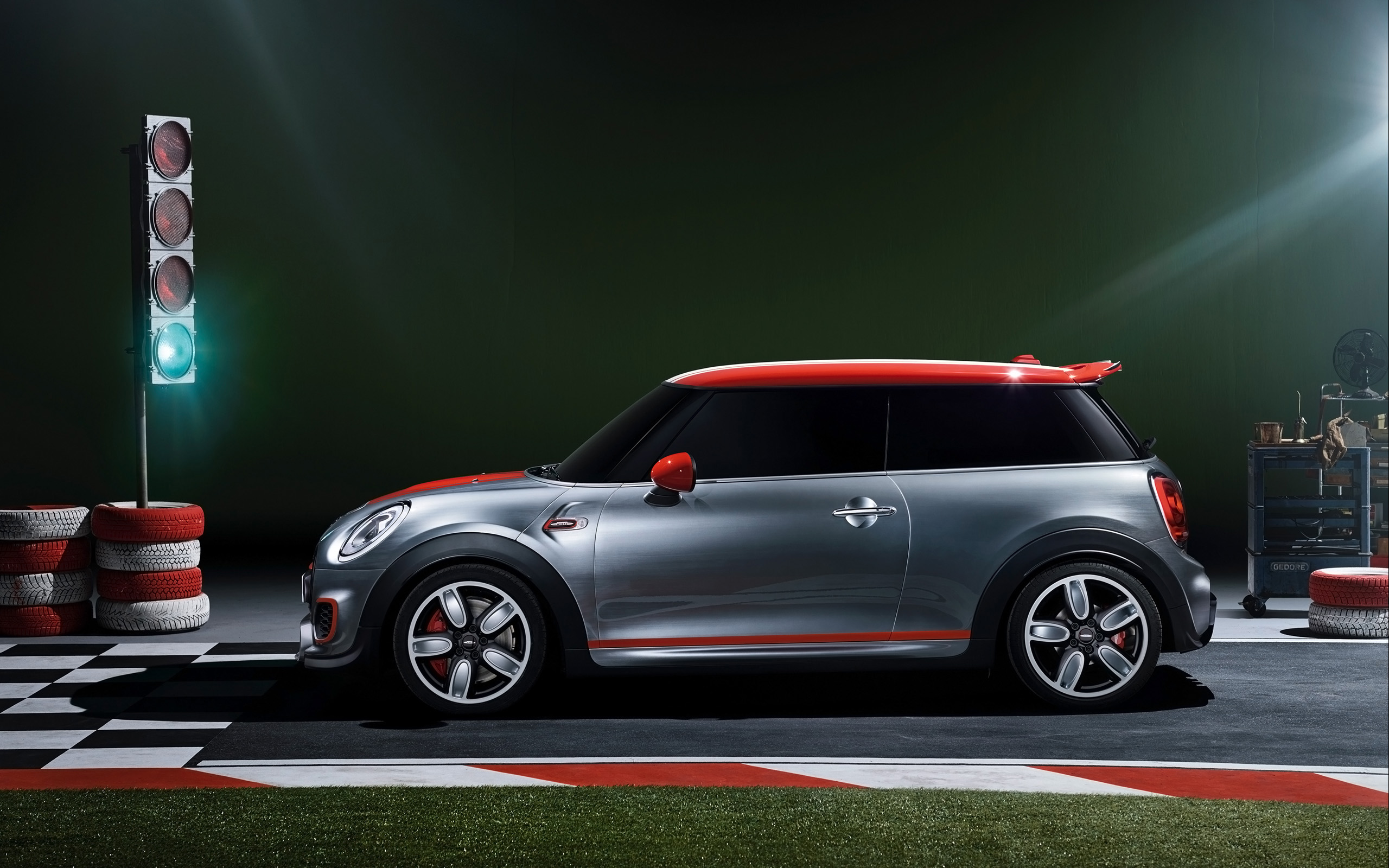 2014 mini john cooper works concept static side wallpapers 2014 mini john cooper works concept. Black Bedroom Furniture Sets. Home Design Ideas