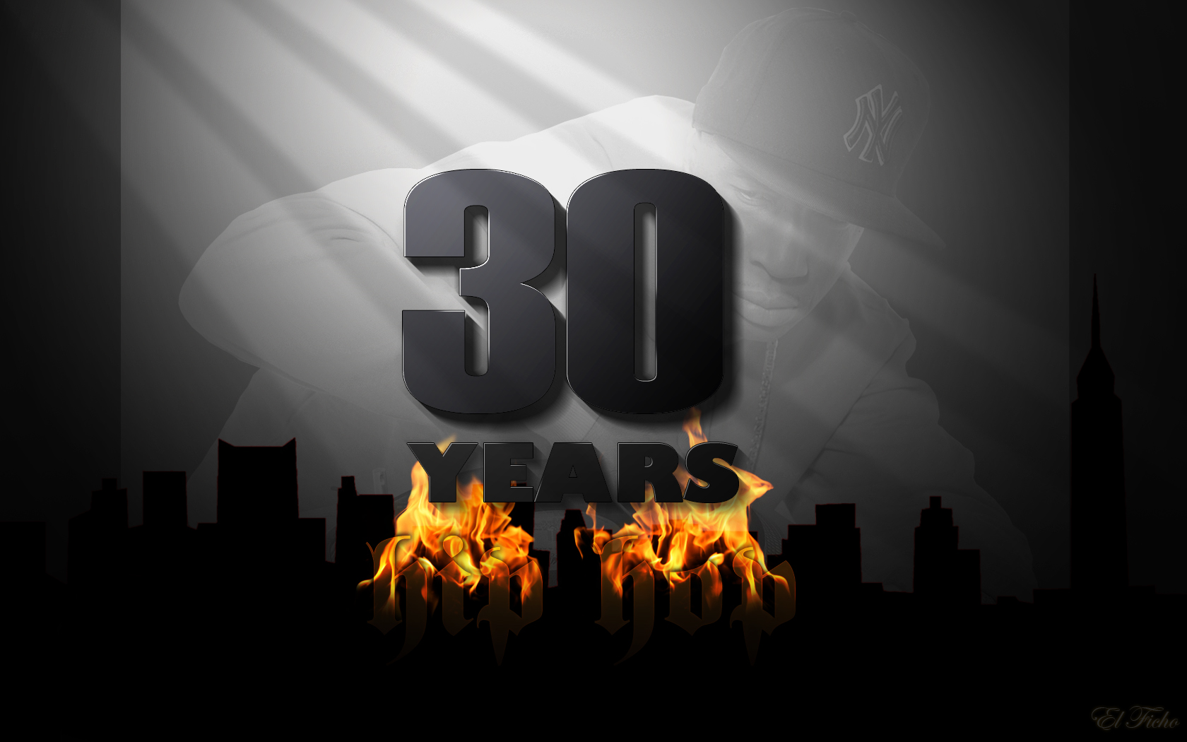 1680x1050 30 Years Of Hip Hop Desktop PC And Mac Wallpaper