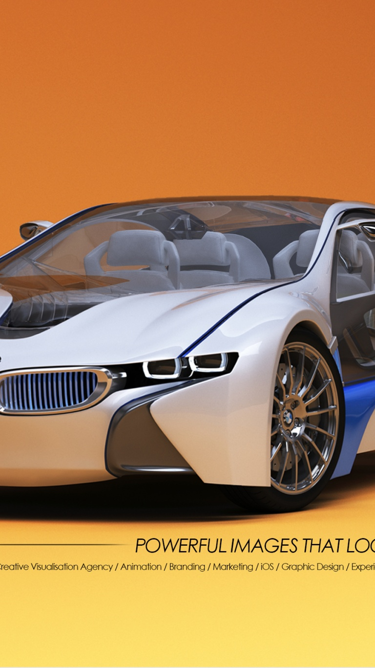 Car Wallpaper >> 768x1366 3D Car Designs - BMW Surface rt wallpaper