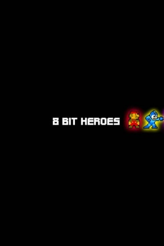320x480 8 Bit Heroes Awesome Cool Funny Iphone 3g Wallpaper