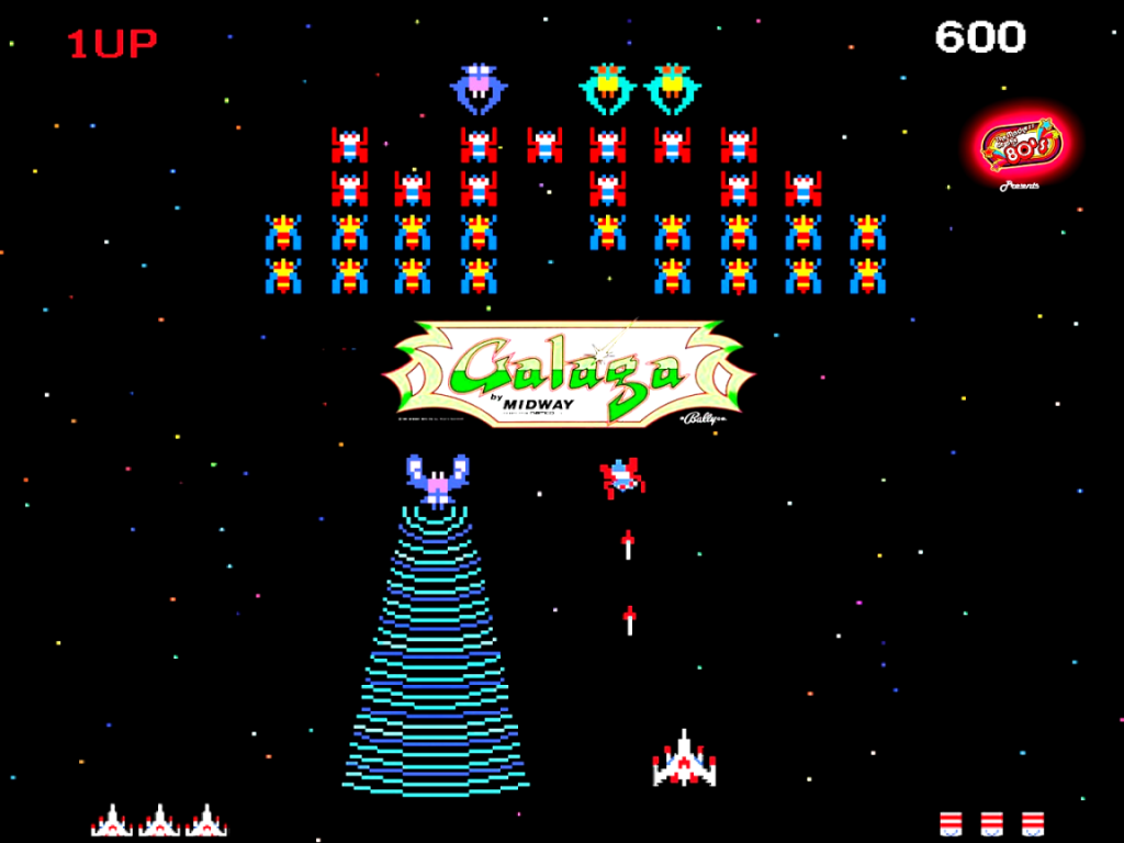 1024x768 80 39 s mania galaga desktop pc and mac wallpaper for 80s wallpaper home