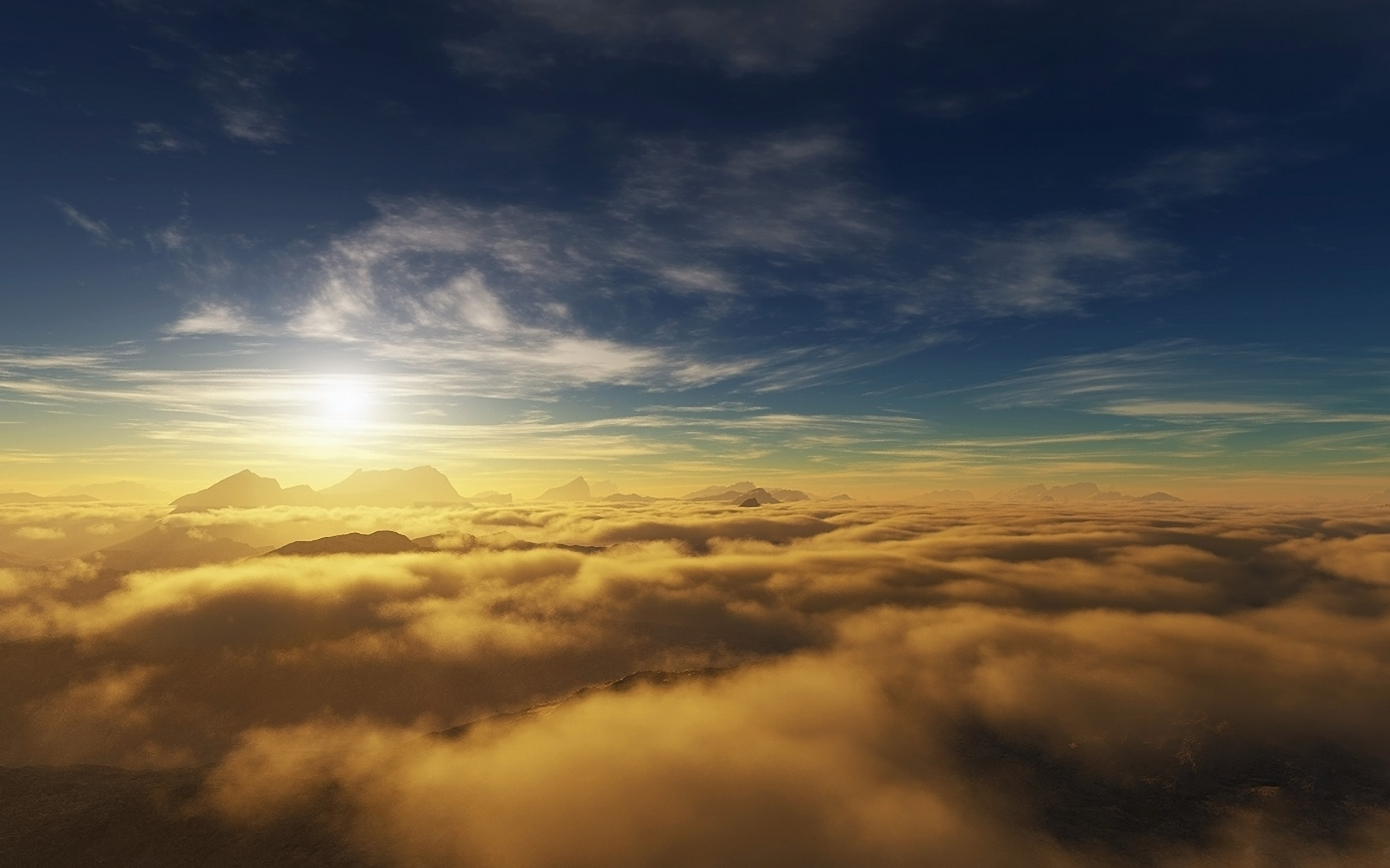Sky Cloud Wallpapers Hd: Above The Clouds Stock Photos