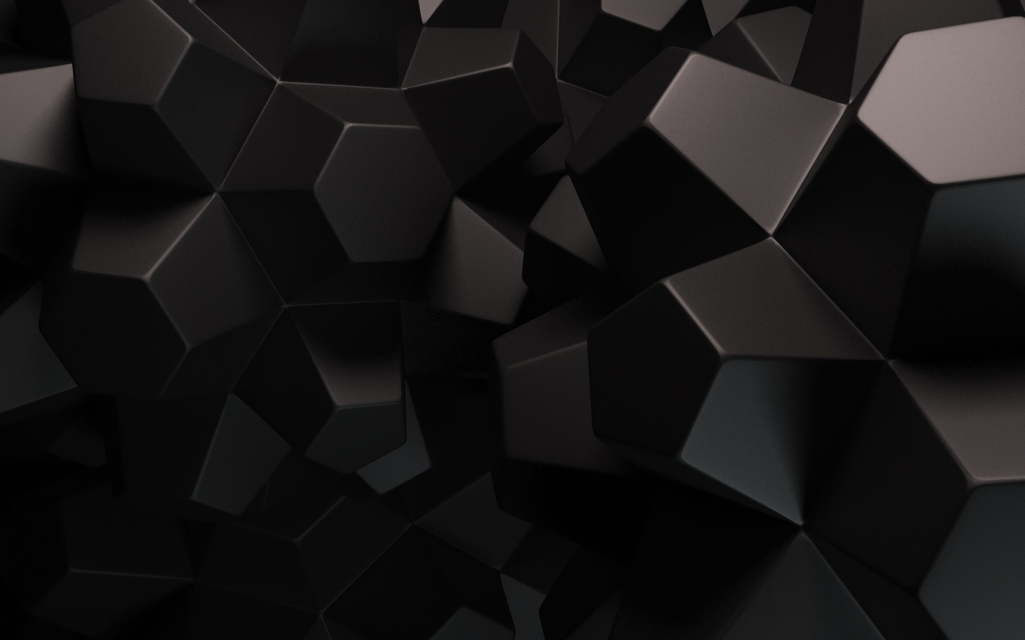 1440x900 abstract black shapes desktop pc and mac wallpaper for Black home wallpaper