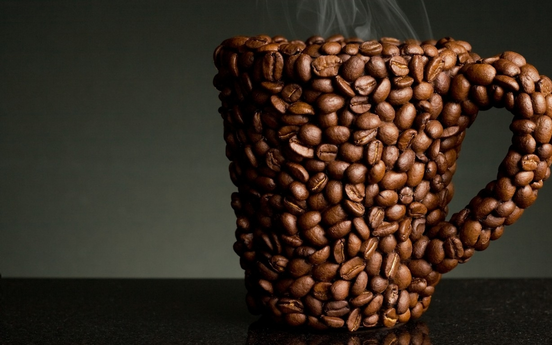 1920x1200 abstract coffee beans cup desktop pc and mac wallpaper