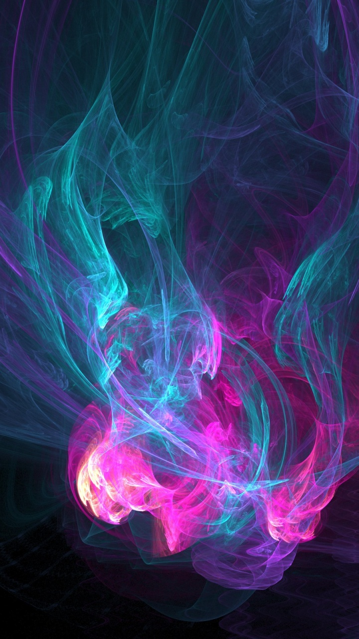 720x1280 Abstract Colors Galaxy S3 Wallpaper