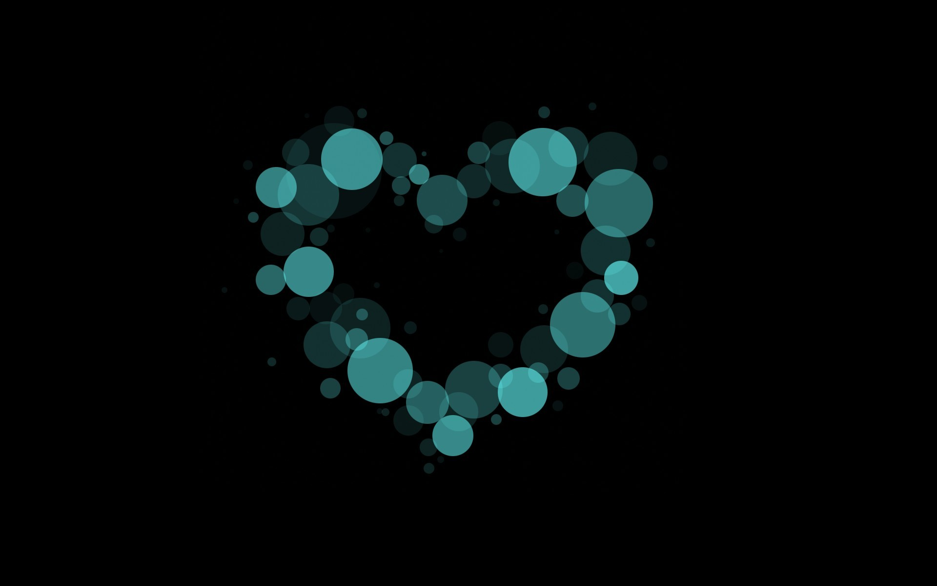 Abstract Heart Shape Wallpapers