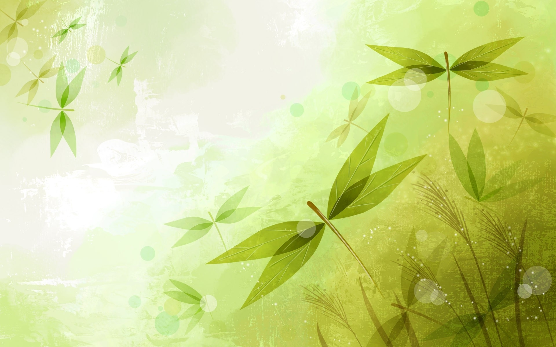 abstract leaves green wallpapers abstract leaves green