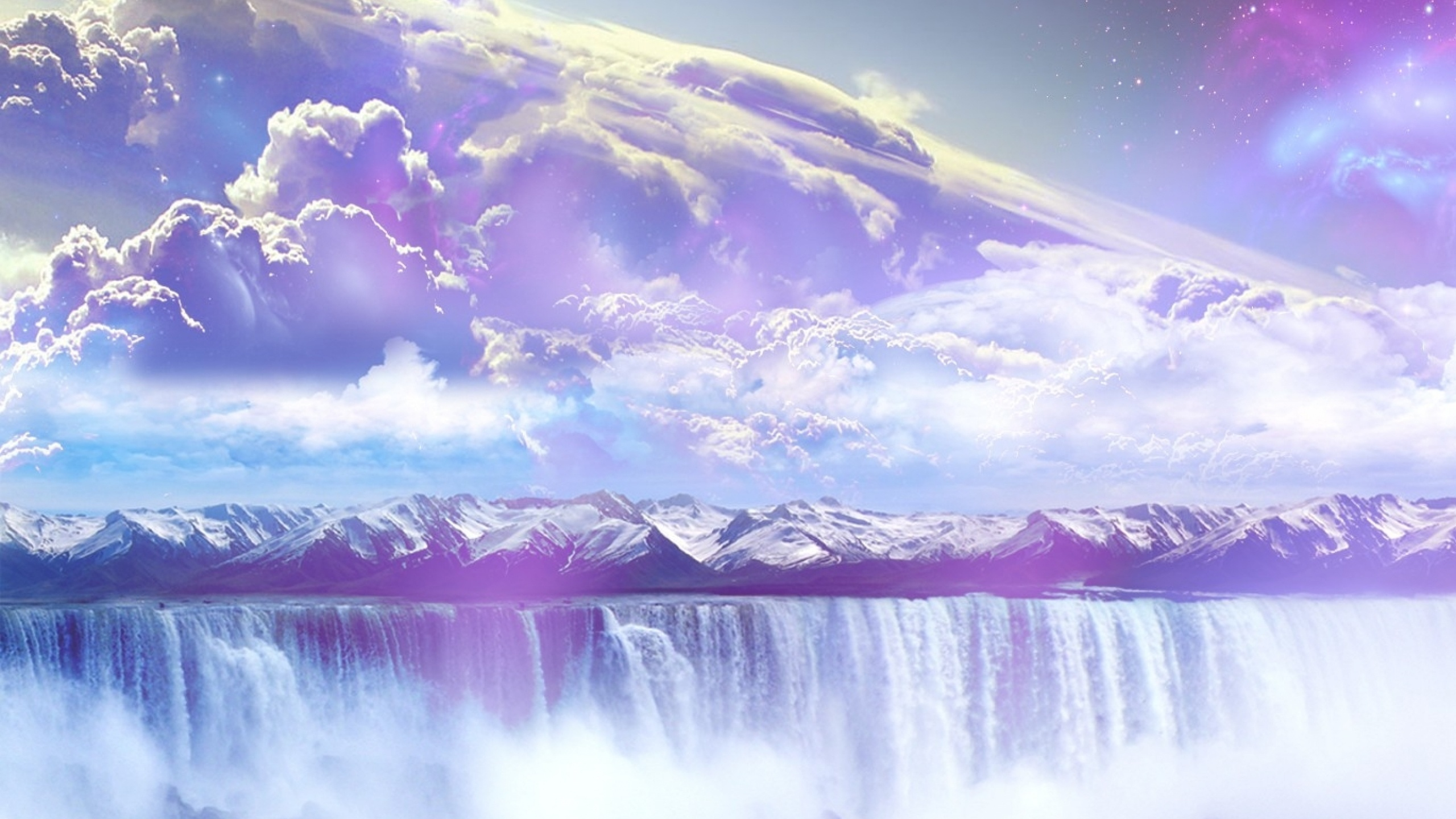 2560x1440 Abstract Outer Space desktop PC and Mac wallpaper