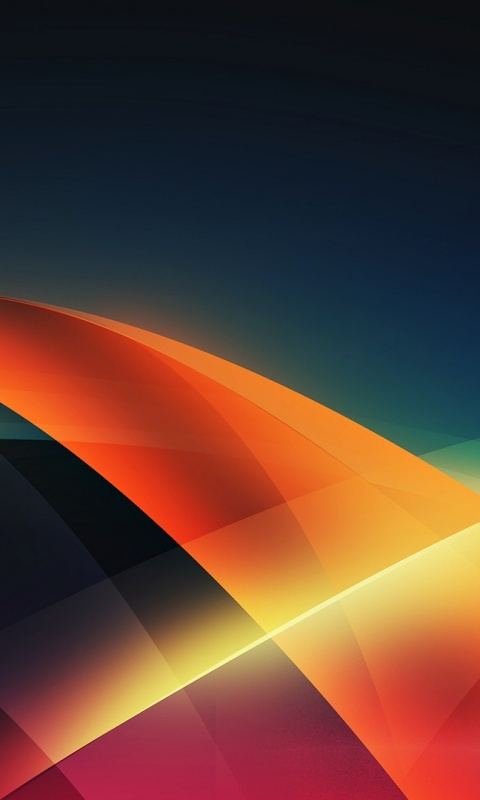 480x800 Abstract Shapes And Colors Galaxy S2 Wallpaper