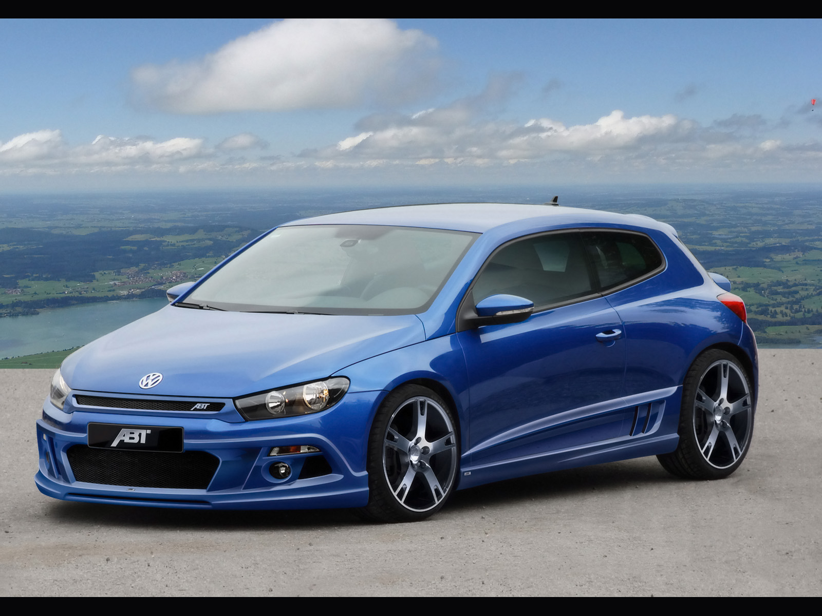 Abt Scirocco Blue Wallpapers X