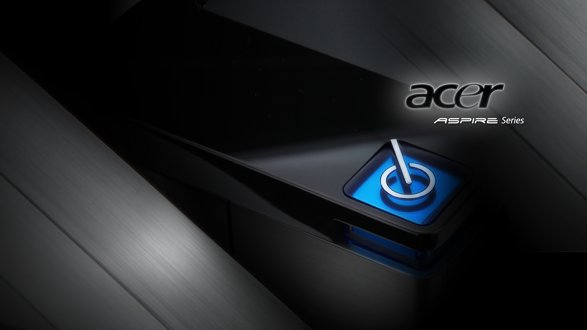 1920x1080 Acer Aspire Blue Desktop Pc And Mac Wallpaper