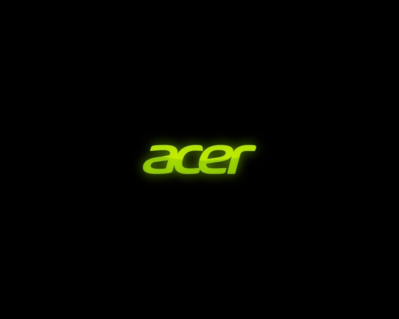 Download Wallpaper 1280x1024 Acer, Firm, Green, Black 1280x1024 HD ...