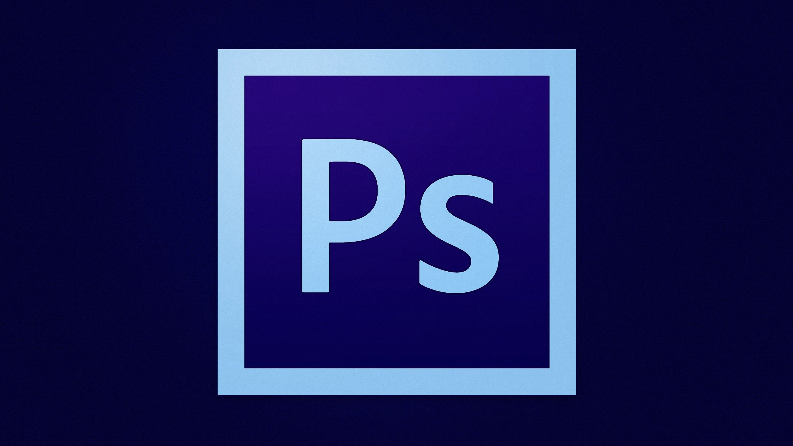 2560x1440 Adobe Photoshop Logo