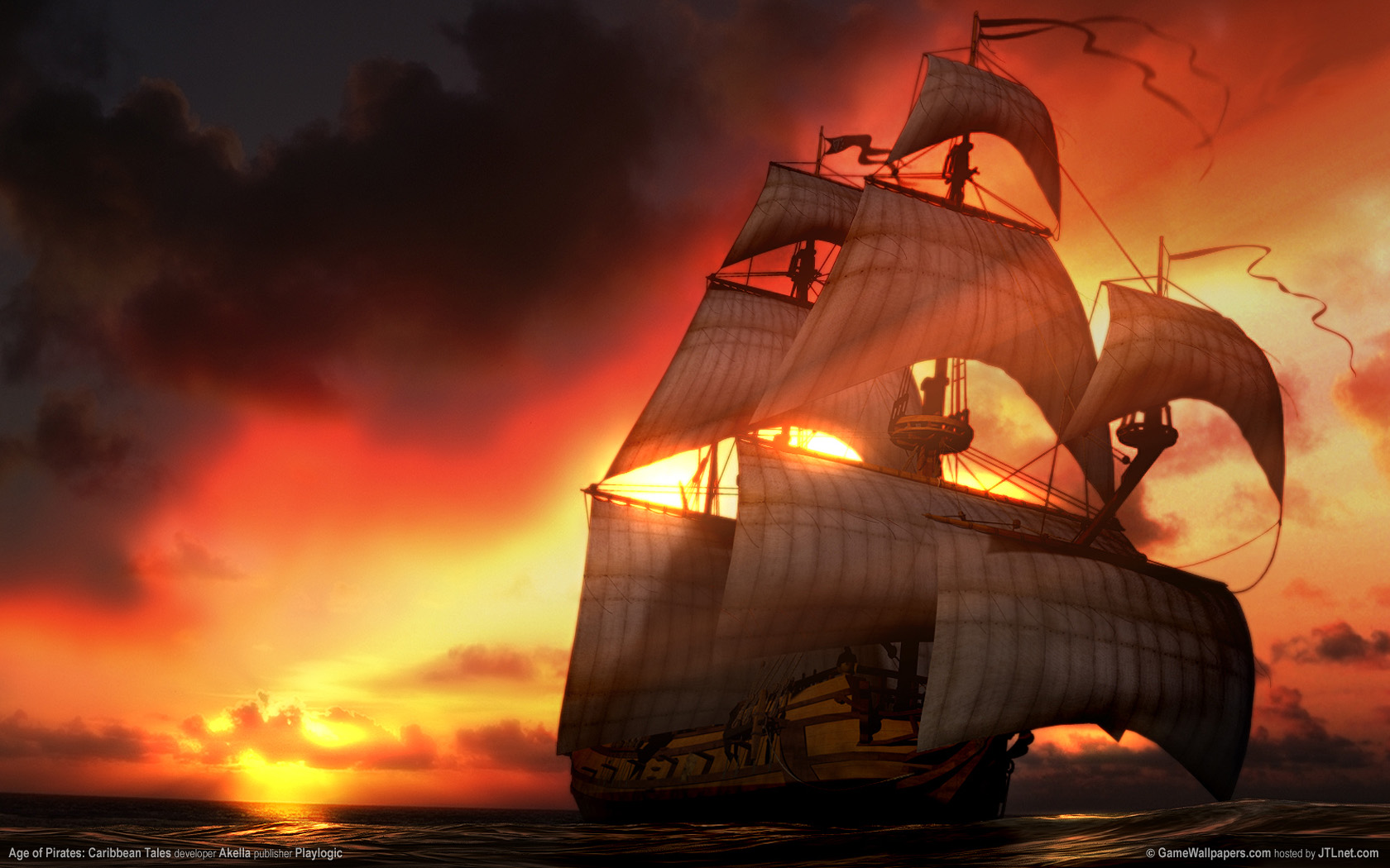 1680x1050 Age of Pirates desktop PC and Mac wallpaper