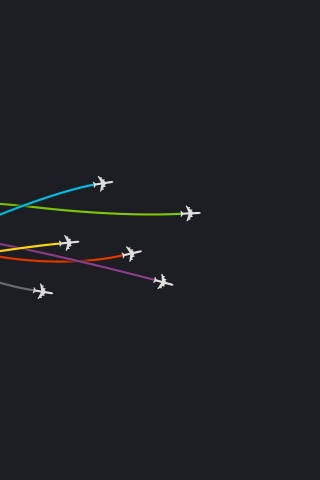 320x480 Aircrafts on Dark Background