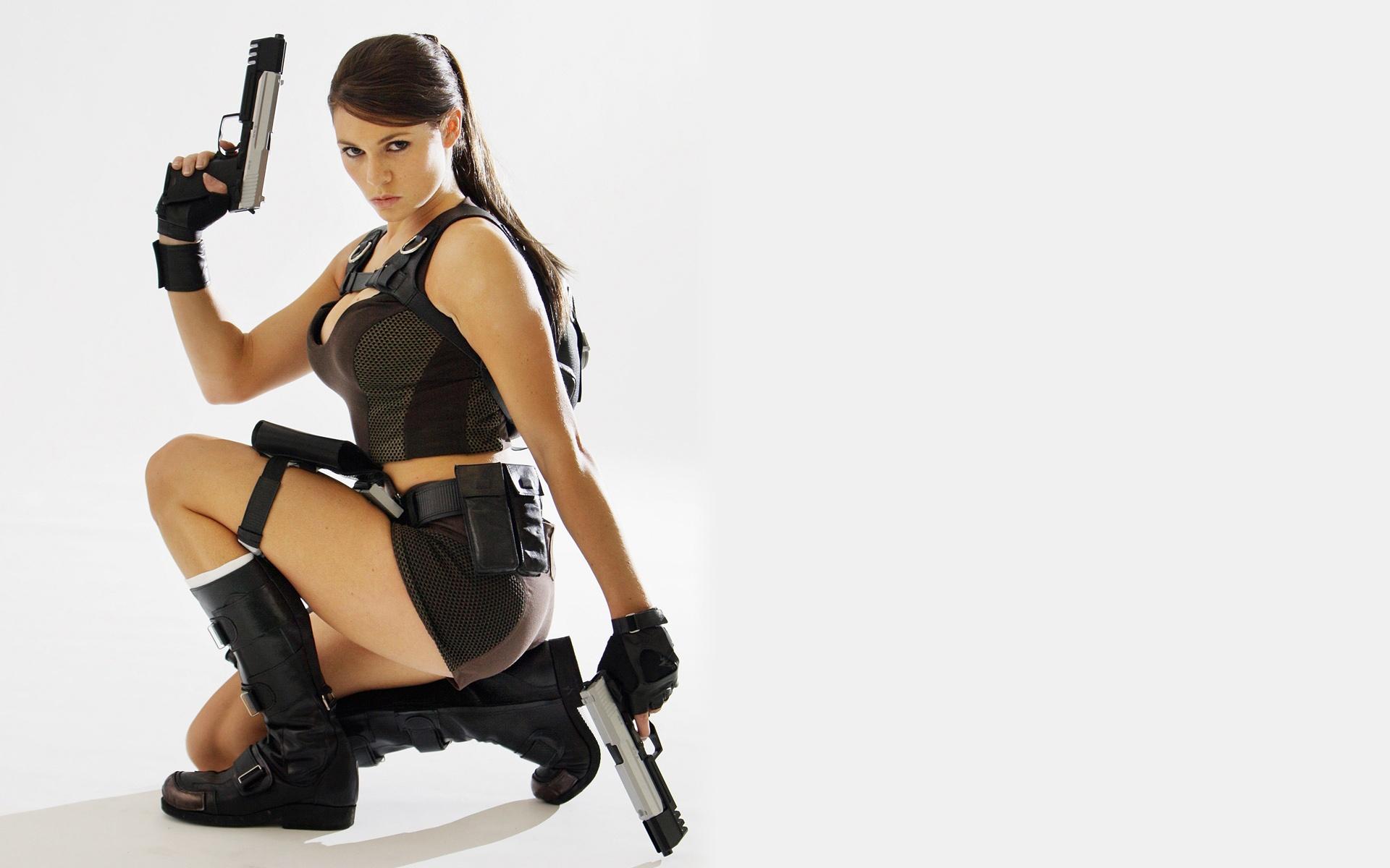 1920x1200 Alison Carroll as Tomb Raider desktop wallpapers and stock photos