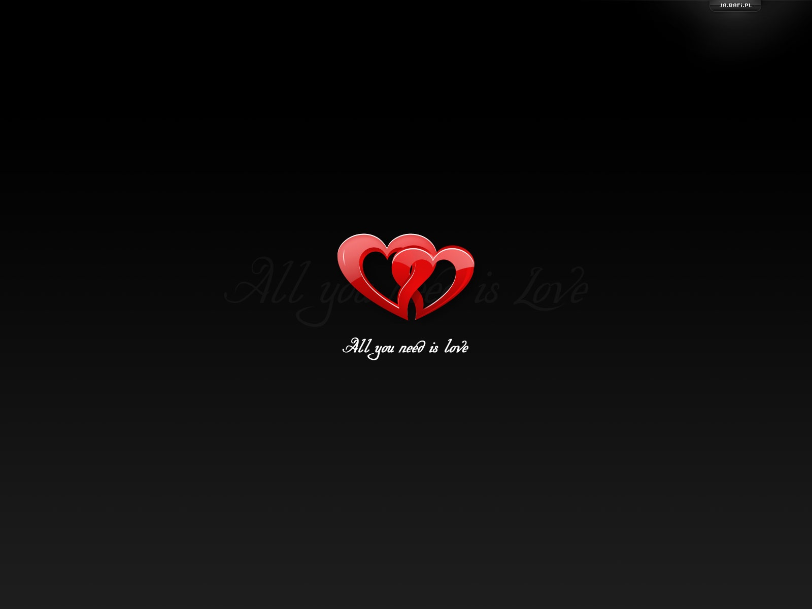 1600x1200 All you need is love desktop Pc and Mac wallpaper