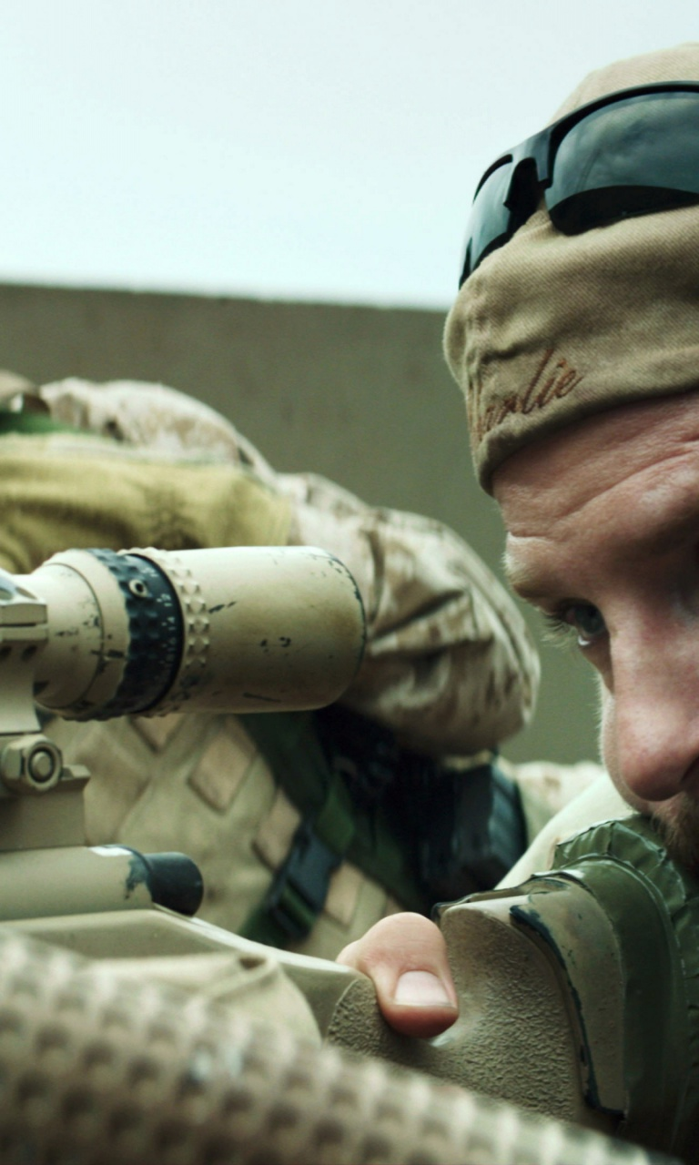 768x1280 American Sniper Movie Scene Nexus 4 Wallpaper