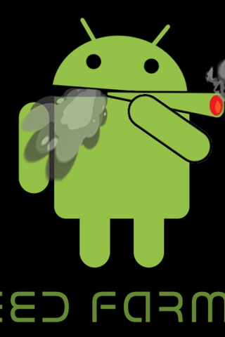 320x480 Android Smoking A Joint On Bla Iphone Wallpaper