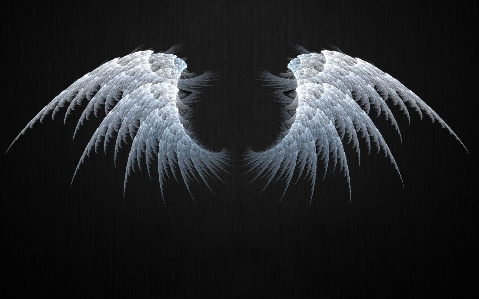 1920x1200 Angel Wings Fractal Desktop Pc And Mac Wallpaper