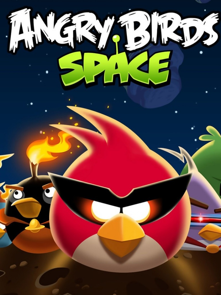 angry birds game space