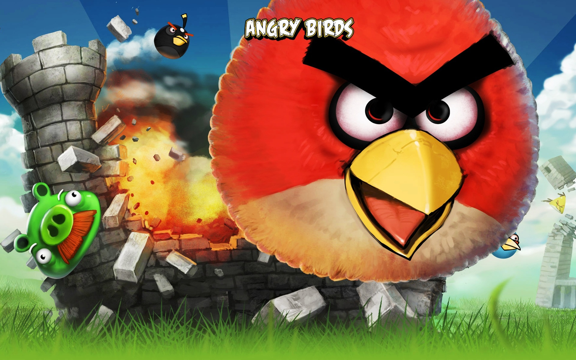 angry birds wallpapers | angry birds stock photos