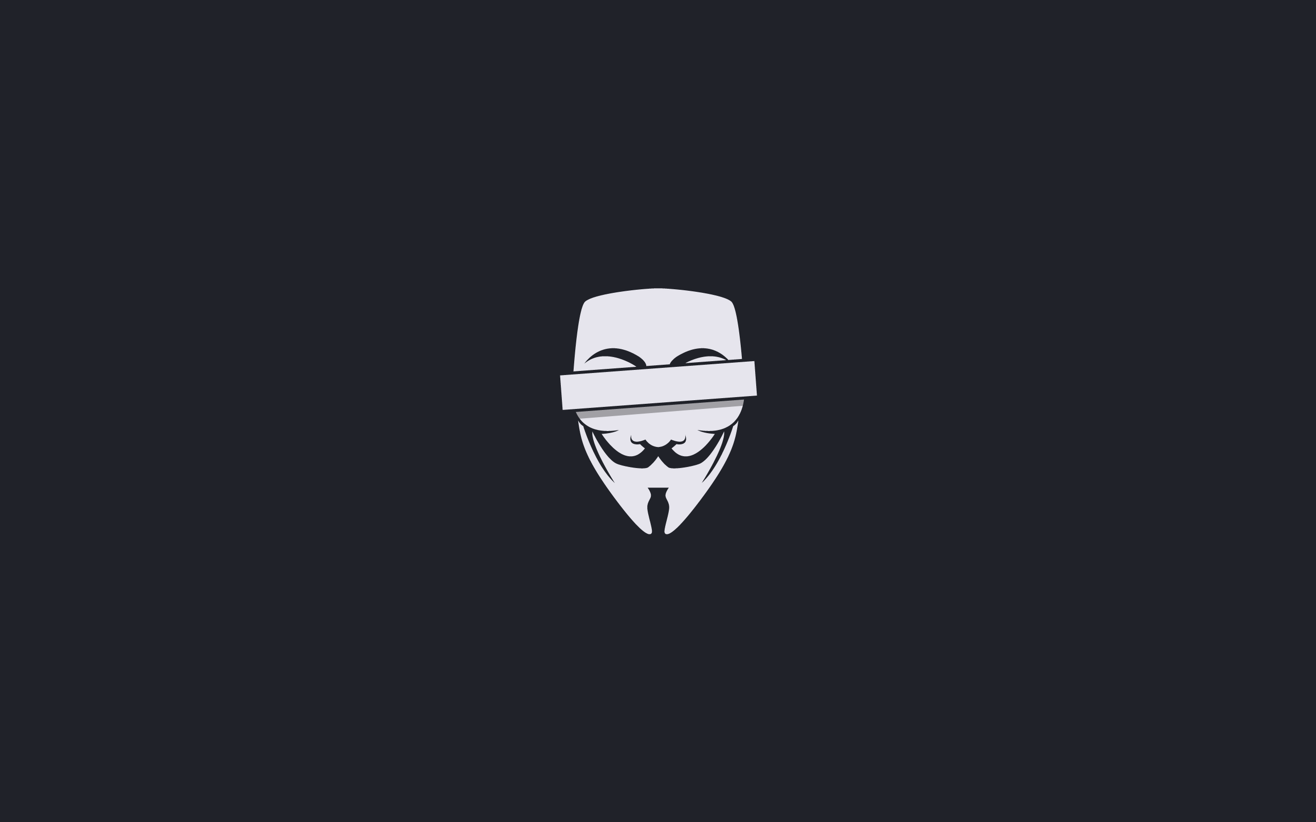 2560x1440 Anonymous Censored Youtube Channel Cover