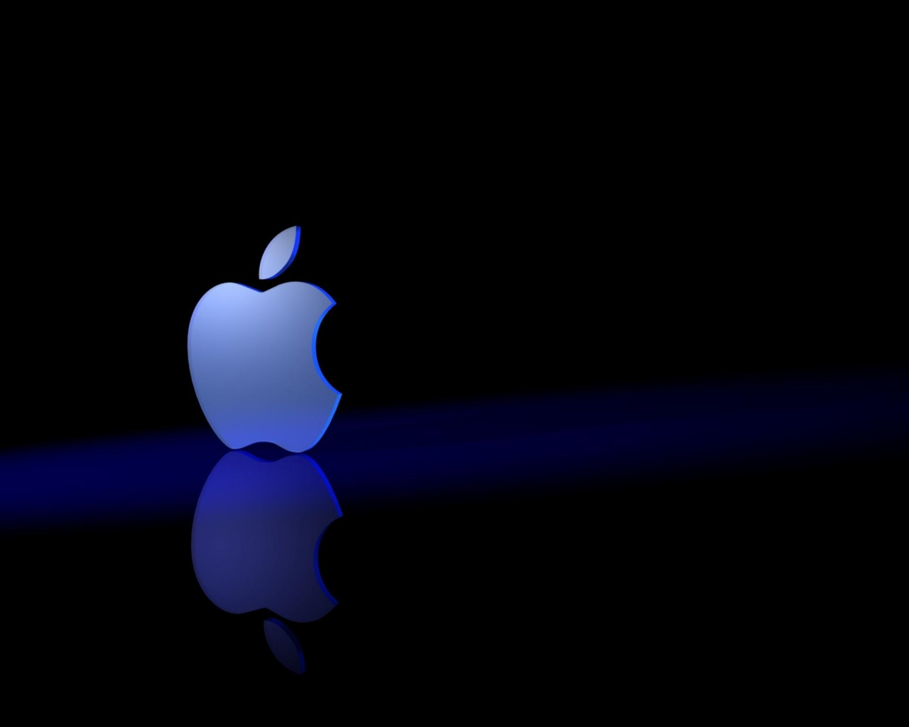 1280x1024 Apple 3Dark desktop PC and Mac wallpaper