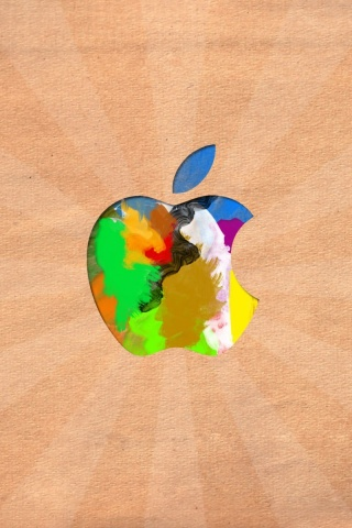 320x480 Apple logo, mac, macintosh